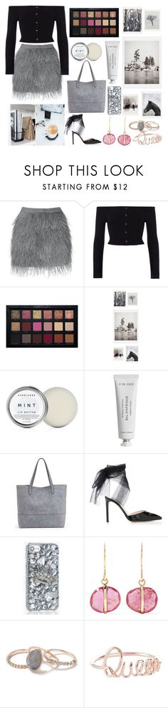 """""""Runway queen"""" by meganjaned ❤ liked on Polyvore featuring River Island, DENY Designs, Herbivore, Byredo, Sole Society, Melissa Joy Manning and Miss Selfridge"""
