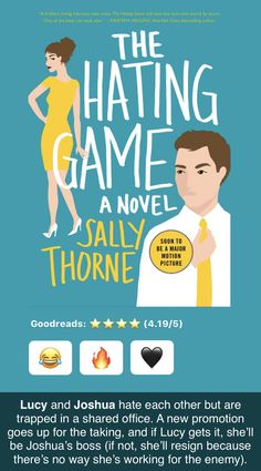 25 Books Like The Hating Game | Amateur Book Reviews