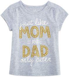 Okie Dokie Girls Graphic T-Shirt-Toddler Family Tees, Toddler Girls, Dads, Winter, Cute, T Shirt, Shopping, Women, Fashion