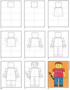 Lego Portrait, Self Portrait Art, Middle School Art, Art School, Portraits For Kids, 6th Grade Art, Art Lessons Elementary, Art Programs, Art Classroom
