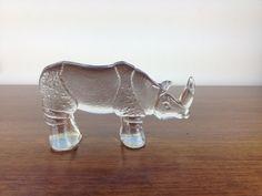 Kosta Boda: Rhino(Zoo series)