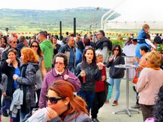 Strawberry & Cream Cannoli at the Spring Strawberry Festival in #Mgarr, Malta.