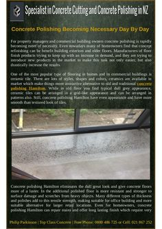 eliminates the dull great look and give concrete floors more of a luster. In the additional polished floor is more resistant and stronger to surface damage and scratches from heavy objects. Types Of Concrete, Floors And More, Building Exterior, Types Of Flooring, Floor Finishes, Concrete Floors, Luster, Hamilton, Objects