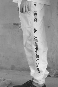 YtinifninfinitY - White Pants