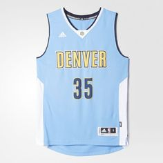936efdb86bd adidas - Nuggets Swingman Jersey #35 Adidas Men, Nba, Hockey, Ice Hockey