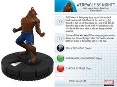 Werewolf By Night #015 Amazing Spider-Man Marvel Heroclix - Marvel: Amazing Spider-Man - Heroclix