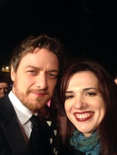 With James McAvoy at @BAFTAScotland ! Such a gorgeous man!!