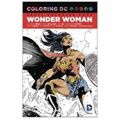 Wonder Woman Coloring Book - DC Comics - Wonder Woman - Books at Entertainment Earth