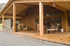 Enjoy Pacific Northwest outdoor living with this wrap-around porch. This award-winning home was constructed by Spane Buildings in Mount Vernon, WA.
