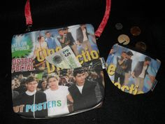 Full MoonOne Direction Magazine PagesRed with matching by mibolsa, $40.00  One Direction