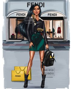 Russian Artist Illustrates How Disney Princesses Would Dazzle In Modern Luxury Brands - Pocahontas - All Disney Princesses, Disney Princess Drawings, Disney Princess Pictures, Disney Princess Art, Disney Drawings, Drawing Disney, Art Disney, Disney Kunst, Disney Girls