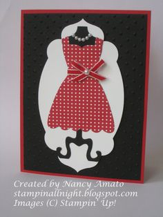 Stampin' All Night: All Dressed Up!