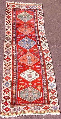 Shahsevan Rug: Shah-Savan Aserbeidschan, Galerie Van-Ham