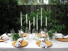How to Set a High-Style, Low-Cost Outdoor Dining Table | The Stir