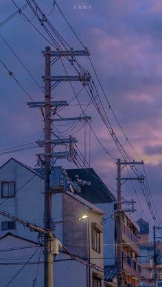 Anime Scenery Wallpaper, Aesthetic Pastel Wallpaper, Aesthetic Backgrounds, Wallpaper Backgrounds, Aesthetic Wallpapers, Landscape Wallpaper, Wallpaper Downloads, Wallpaper Quotes, Aesthetic Japan
