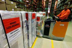 Portugal envia oito toneladas de mediamentos para Moçambique