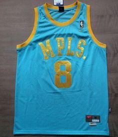 9871218b2 Blue Kobe Bryant  8 MPLS Classic Jersey Basketball Schedule