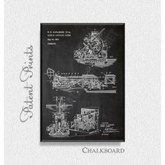 Missile Launching System 1961 Patent Print