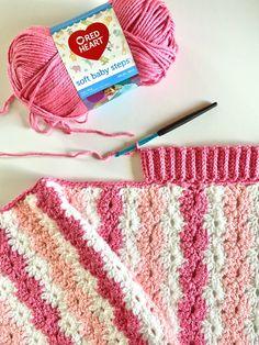 Crochet Front Bottom Loop Half Double Crochet Border Crochet Border Patterns, Crochet Blanket Border, Crochet Quilt, Crochet Stitches, Crochet Baby, Crochet Blankets, Baby Blankets, Chevron Blanket, Crochet Edgings