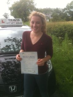 Passed first time.  Happy driving around Winslow.