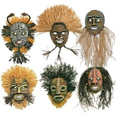 African Masks - Project #7 - United Art and Education