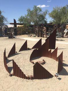 East Jesus is an art community living off the grid near Slab City, California.