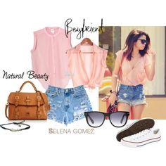 """Selena Gomez, summer cool"" by junglejuls on Polyvore"