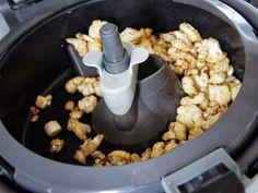 Blomkålschips chrispy blomkål i Actifry LCHF chips