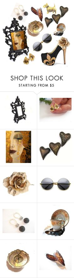 """Lavish"" by plumsandhoneyvintage ❤ liked on Polyvore featuring interior, interiors, interior design, home, home decor, interior decorating, Dorothy Perkins, Noritake, Handle and contemporary"