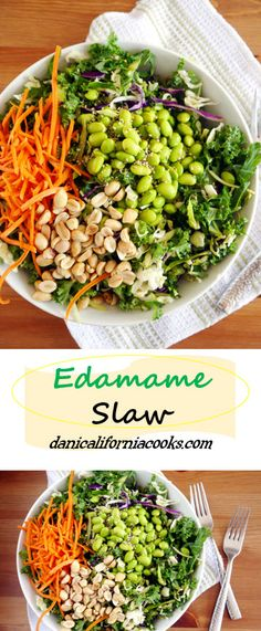 This well-balanced salad is gluten free and vegan! | danicaliforniacooks.com