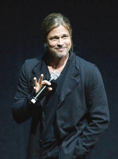 Brad Pitt opens CinemaCon