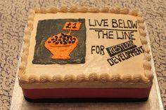 Time for Cake Live Below The Line, Buttercream Cake, Desserts, Food, Buttercream Ruffles, Tailgate Desserts, Deserts, Essen, Postres