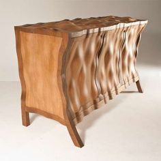The 'Volumptuous' Sidetable by Edward Johnson is a Distinct Piece #ecofriendly #homedecor trendhunter.com