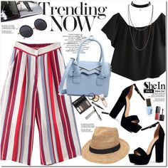 Shein by oshint on Polyvore featuring moda, Boohoo, Gottex, Borghese, Smashbox, awesome, amazing, pretty, Sheinside and shein