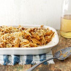Baked Butternut-Squash Rigatoni #recipe