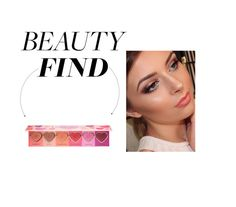 """""""Beauty Find: Too Faced Love Flush Blush"""" by polyvore-editorial ❤ liked on Polyvore featuring beauty and beautyfind"""