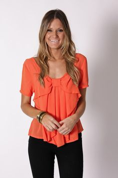super cute easy top! would look really cute with fun jewelry