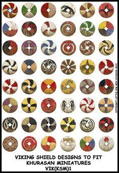 Shield designs