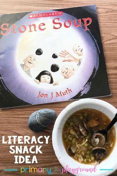 Literacy Snack Idea Soup