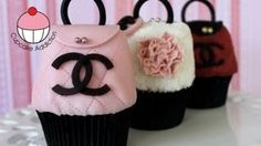 Purse Cupcakes Make Chanel Handbag Cupcakes A Cupcake A