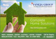 Taneja Home Solutions, your complete home solution is here for your rescue. Visit http://www.tanejahomesolutions.com/ and shop now!