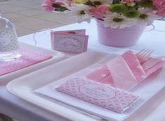 Como decorar el centro de mesa para bautizo