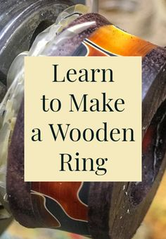 Tips, tricks, and tutorials on how to make handmade wooden rings. Dremel Projects, Easy Woodworking Projects, Ring Making, How To Make Rings, Making Tools, Wood Rings, Rings Cool, Handmade Wooden, Own Home