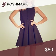 Nordstrom Zip-up Scuba dress From Nordstrom, worn once. Super thick and well made ! Dresses