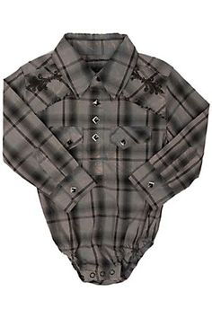 Wrangler All Around Baby Boys Black with a pair of wranglers and boots ur set