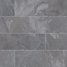MSI Alicante Grigio 6 in. x 36 in. Glazed Porcelain Floor and Wall Tile sq. / - The Home Depot 3d Texture, Tiles Texture, Alicante, Home Depot, Grey Wall Tiles, Exterior Tiles, Stainless Steel Hood, Craftsman Bathroom, Wood Parquet