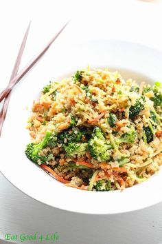 Thai quinoa salad from eatgood4life.com