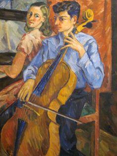 Children playing piano and cello - Pedro Nel Gomez - Medellin Colombia - SoloTripsAndTips.com