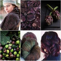 Mood Board Monday - Truffle by Tanis Fiber Arts Magic Loop Knitting, Tanis Fiber Arts, Color Collage, Color Blending, Color Pallets, Color Theory, Green And Purple, Art Blog, Truffles