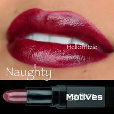Sexy lip color for fall season by Motives.